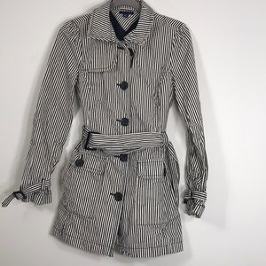 Tommy Hilfiger Stripe Trench Coat M